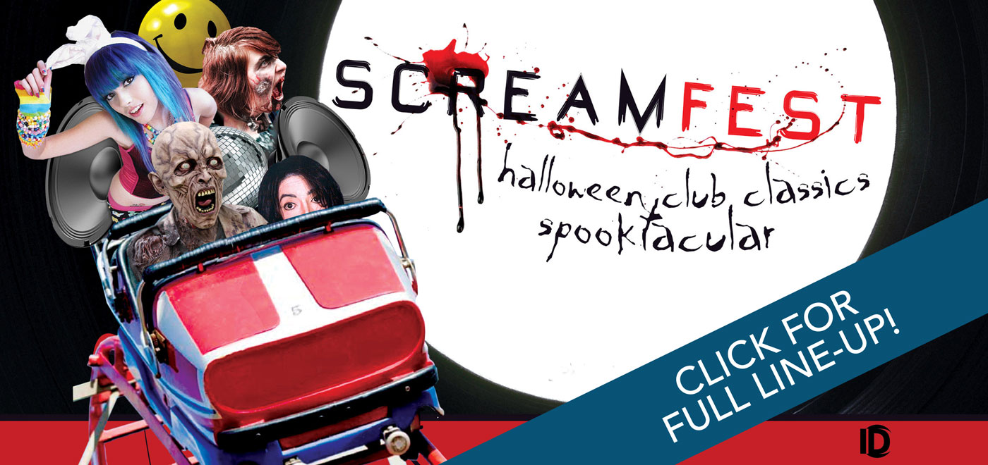 Screamfest 2015 – Pleasureland Southport – Sat 31st October